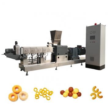 Single Screw Corn Puff Snack Food Machinery Extruder